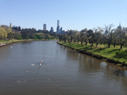 Melbourne was glorious for the public holiday on October 2.
