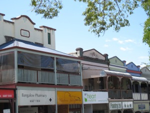 Even the town of Bangalow has had a surge in real estate prices.