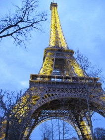 The Eiffel Tower was nice but so was the tripe sausage.